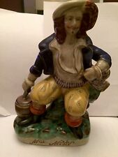 Staffordshire Flatback Figure - Will Watch - The Bold Smuggler C1850