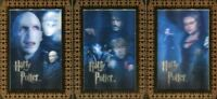 The World of Harry Potter 3D 2 Case Topper Chase Card Set 3 Cards