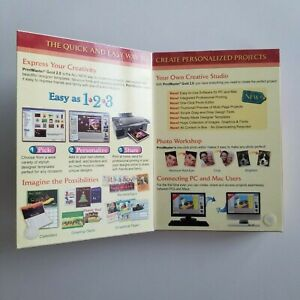 PC & Mac Compatible PrintMaster Gold 2.0 [ NEW UPDATED SOFTWARE BOXED EDITION ]