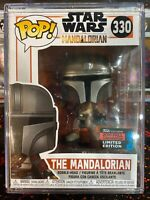 Funko POP! Star Wars #330 Mandalorian Vinyl Bobble Head - NYCC Exclusive