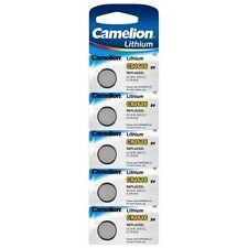 Blister 5 piles bouton Camelion lithium 3V CR1616/DL1616/5021LC/E-CR1616