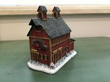 Lang & Wise Town Hall Collectibles Old Red Mill #8 1998 Euc