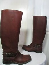 $379 THE FRYE HEATH TALL RIDING BOOTS 77368 COGNAC LEATHER SIZE 5½ B