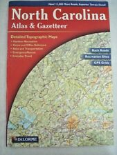 DeLorme North Carolina Atlas & Gazetteer 88 pg 5th Ed Detailed Topographical Mps