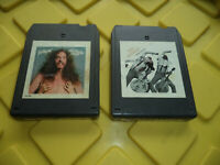 Lot of 2 - Ted Nugent - 8 Track Tapes - Free For All + Cat Scratch Fever