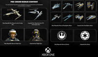 Star Wars Squadrons (Xbox One) Pre-Order DLC - Rare Skins, Suits, and Decals