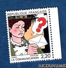 N°2512 - TIMBRE NEUF Tardi France 1988