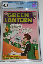 Green Lantern # 11 – D.C. Comics (3/62) – CGC 4.5 – Trial of Green Lantern