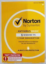 Norton | by Symantec | AntiVirus Basic for Windows 1 PC #1031