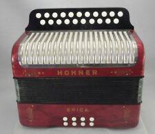 HOHNER ERICA BUTTON ACCORDION CF - Free shipping
