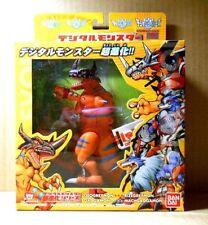 Bandai Digimon GEOGREYMON Digivolving RIZEGREYMON FIGURE+DATA LINK CHIP GREYMON