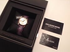 BNWT 100% Auth Zadig Voltaire Watch Rose Gold Colour With Material Strap.