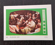 Monty Gum trading card 1970 TV Series: Please Sir #68