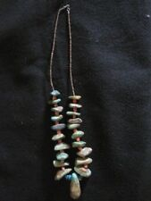 Earlier Navaj 1900's Colossal 160 Grams Turquoise Coral Heishi Necklace~ OLD