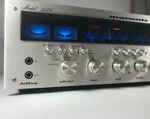 Marantz 2270 Vintage Stereo Receiver AUDIOPHILE SERVICED LED Lighting CLEAN!!!