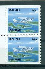 AEREI - PLANES PALAU 1989 Common Stamps Pair