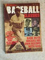 1978 Special Baseball Classics Magazine Volume 1 No. 1