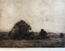 HERMANN STRUCK (1876-1944), Lithography , Field Landscape , Signed
