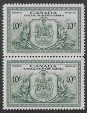 Canada, Peace Issue Special Delivery 1946 10¢ Green  Sc #E11, VF, PR/OG -dw59.11