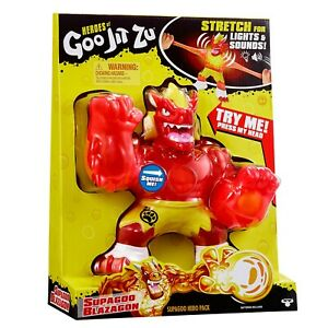 Heroes of Goo Jit Zu 41012 Super Size Blazagon W Lights & Sounds