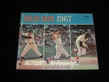 1967 Boston Red Sox Official Baseball Yearbook w/ Yastrzemski & Conigliario
