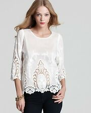Dolce Vita Deidra Lace Top Blouse Size M medium