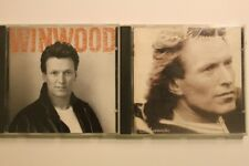 STEVE WINWOOD Chronicles & Roll With It CD Excellent Condition