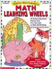 Turn to Learn: Math Learning Wheels (Grades K-2), Howes, Jacquelyn, 0590117572,