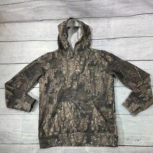 Magellan Outdoors Hunting Camo Hoodie Pullover Sweatshirt Women's Sz L