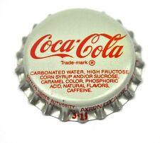 Coca-cola Coke tapita estados unidos soda bottle cap plástico sellado blanco Akron