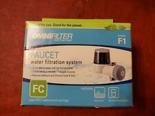 OmniFilter Faucet Water Filtration System F1 Reduces Sediment and Chlorine