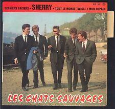 LES CHATS SAUVAGES EP 45T Biem / PATHE EA 631 / Pochette NEUVE AVEC LANGUETTE