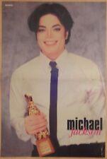 Michael Jackson poster from 1995 Bravo magazine History King of Pop