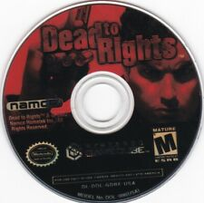 Dead to Rights (Nintendo GameCube, 2002) **DISC ONLY**