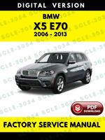 2006-2013 BMW X5 E70 Factory Workshop Service Repair Manual