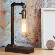 Industrial Retro Table Desk Lamp Steampunk Pipe Beside...