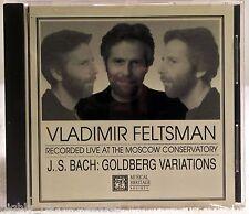 J.S. Bach: Goldberg Variations by Vladimir Feltsman (CD, Musical Heritage Soc...