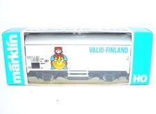 Marklin HO 1:87 BELGIUM B VALIO-FINLAND Advertising REFRIGERATOR VAN Wagon MB`85