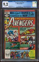 Avengers Annual # 10 CGC 9.2 1st appearance Rogue & Madelyn Pryor R-362