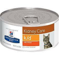 Hills Prescription Diet Feline k/d 8 5.5oz cans chicken & 1 5.5oz can ocean fish