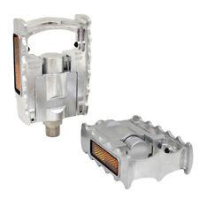 "MKS FD-7 Alloy Folding Platform Pedal 9/16"", Silver"