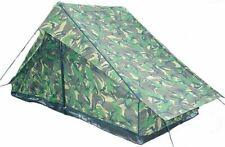 Dutch Army 2 Man Tent Camouflage Shelter Tarp Survival Bushcraft Military UK
