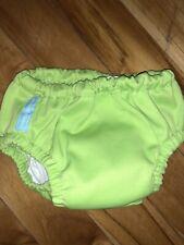 Euc Charlie Banana Training Pants / Swim Diapers 11-18 lbs Small Green