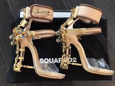 Dsquared2 Virginia Sandals Crystal Pumps Heels Shoes 36