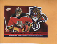 2001 02 ATOMIC ROBERTO LUONGO RED SP 290 PARALLEL #46 PANTHERS ** FREE SHIPPING