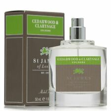 St James of London Cedarwood & Clarysage Cologne (Alcohol Free Atomiser Spray)