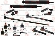 Tie Rods Upper Lower Ball Joints Shock Absorber For F-250 F350 Super Duty RWD