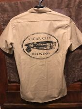 Cigar City Brewing Florida ~ Mens Small ~ Dickies Beer Delivery Work Shirt
