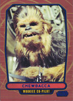 2012 Topps Star Wars Galactic Files Blue Parallel #101 Chewbacca 084/350