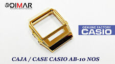 - Without Glass Ni Buttons Vintage Case/Box Casio Ab-10 Golden Nos